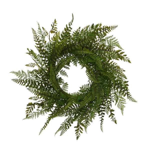 26-Inch Diameter Fern Wreath