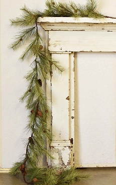 9 Foot Rope Garland- Northern Pine.