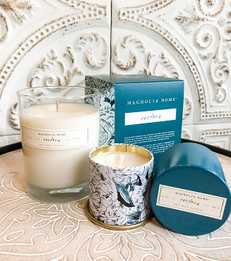 Magnolia Home RESTORE Candle, 9.2 oz Gift Boxed